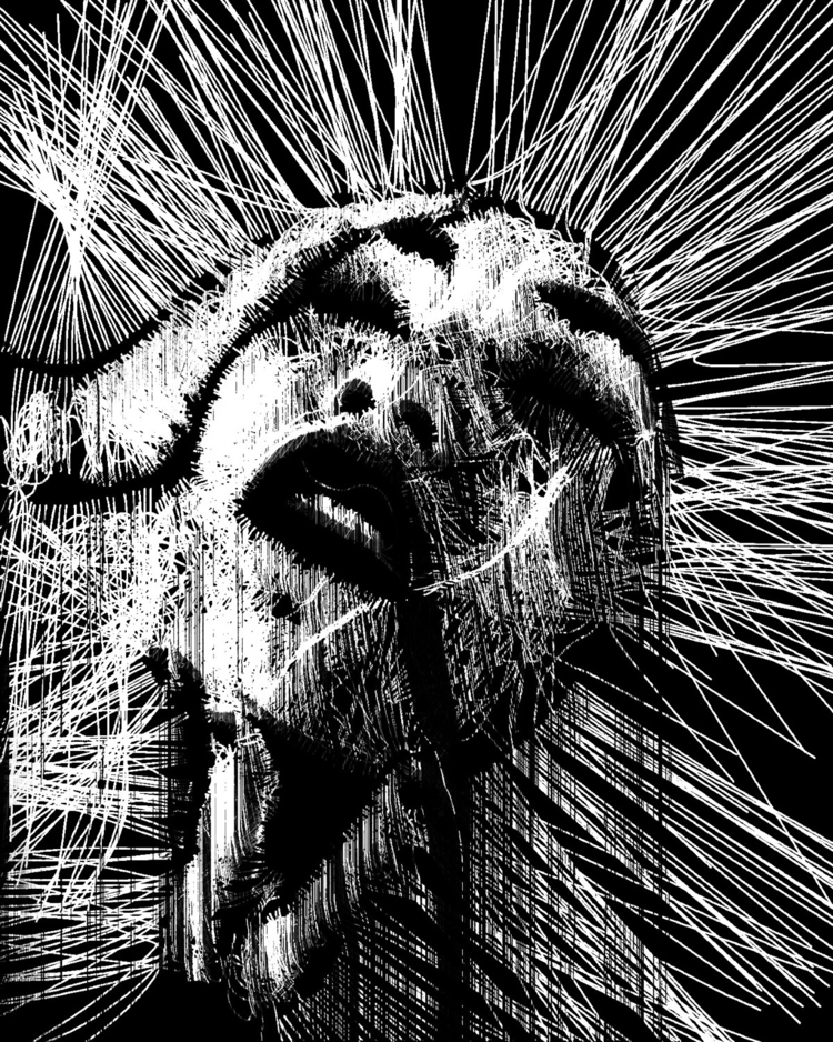 ⋚ weirdly wired  - abstract, generative - ikatch | ello