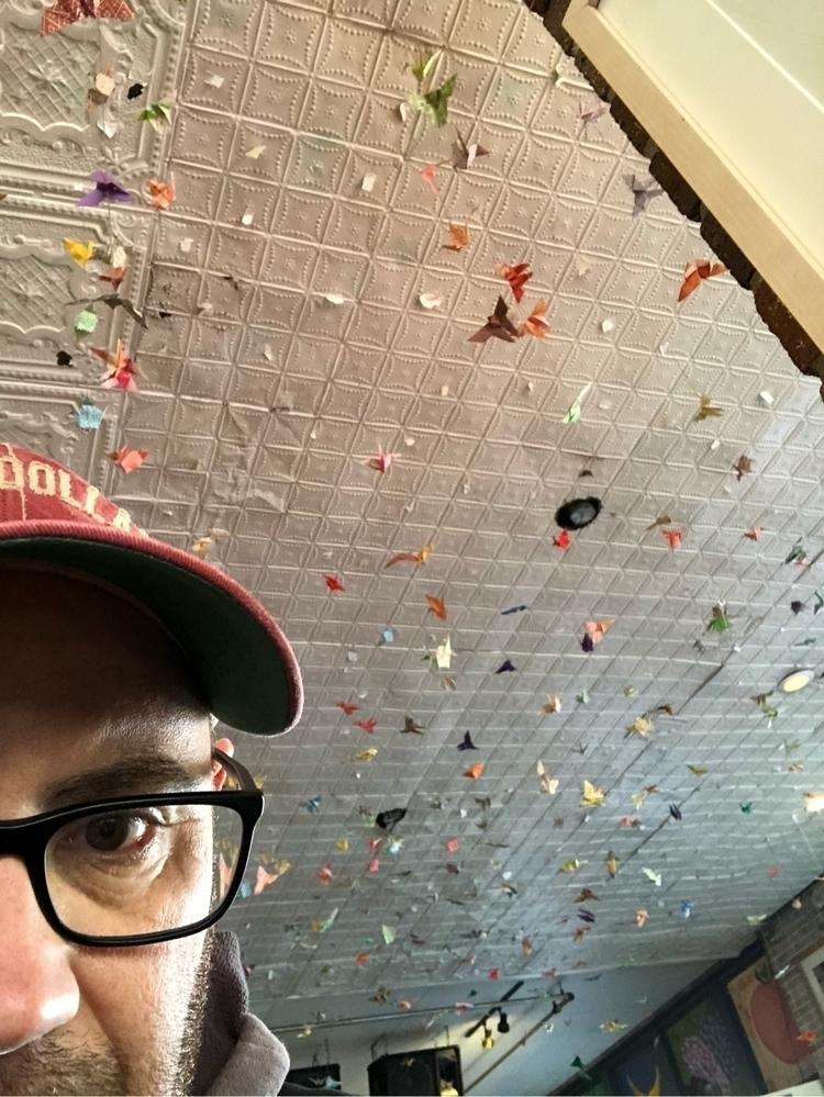 Ceiling - art, dallas, deepellum - shomack12 | ello