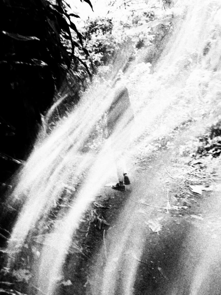 Walking - blackandwhite, photo, forest - uvha | ello