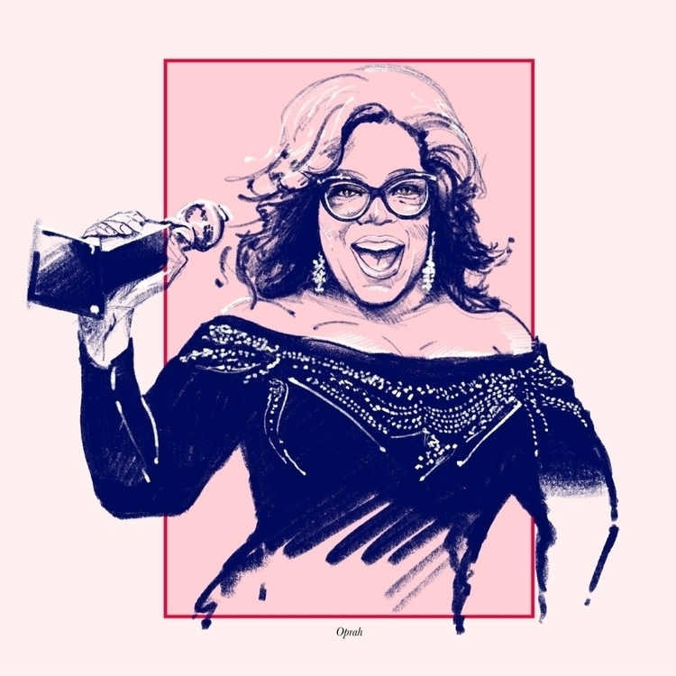 """Oprah - fmonroyr | ello"