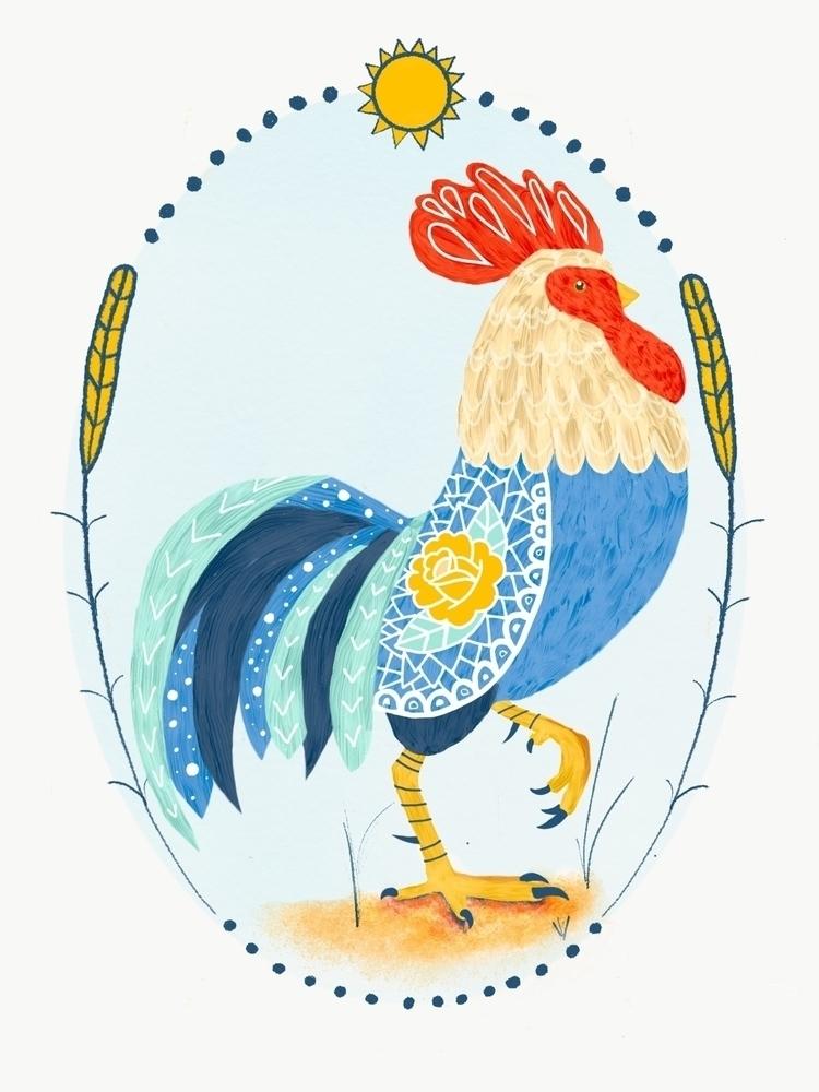 Rooster - bayleefarris | ello
