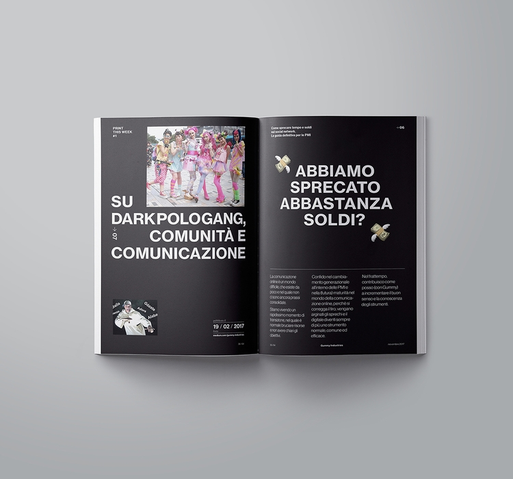 Print Week magazine digital cul - suqrepubliq | ello