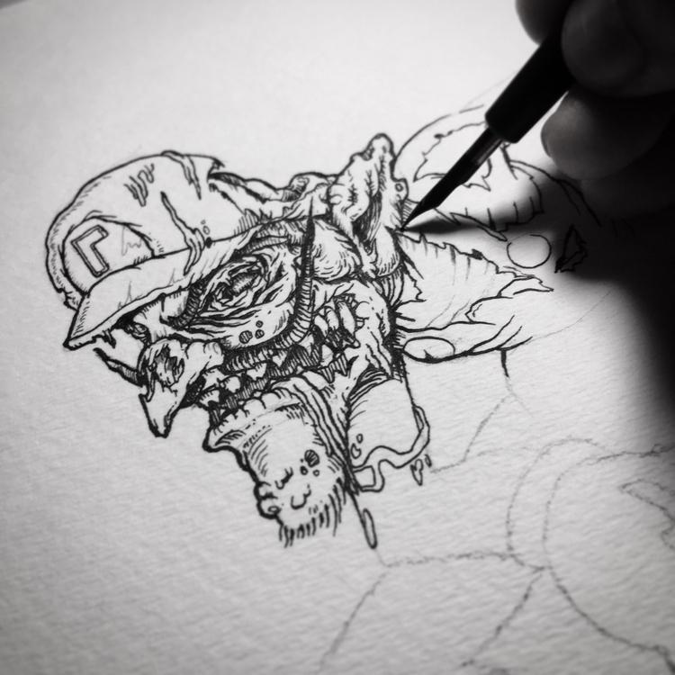 Waluigi 🧟♂️ - zombie - albertmontoya | ello