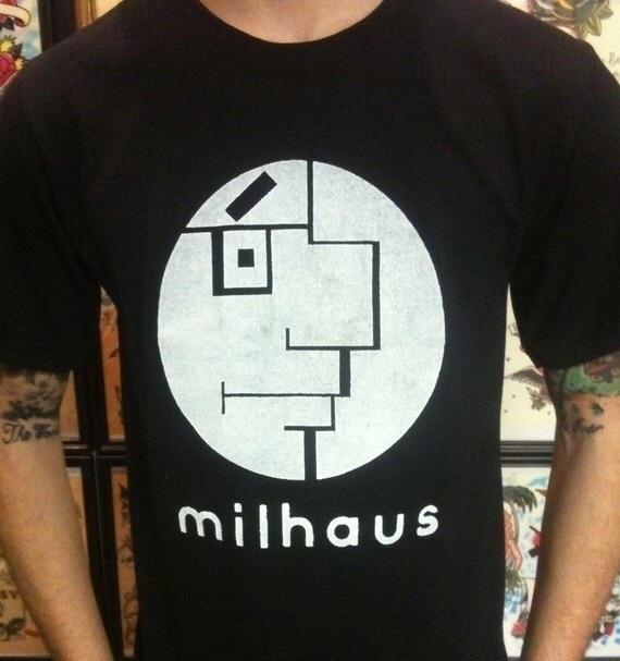Milhaus, Milhouse - Mashup, Bauhaus - bauhaus-movement | ello