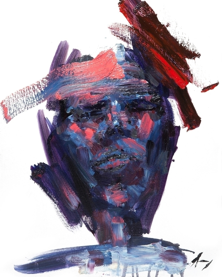Unnerve - Oil canvas 16 20 - art - brandonsavoy | ello