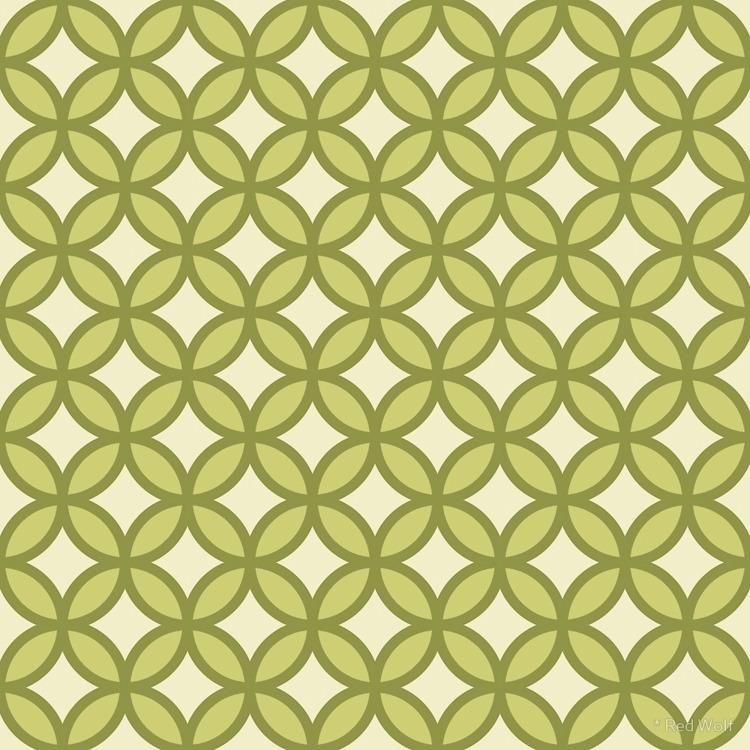 Geometric Pattern: Circle: Gree - red_wolf | ello