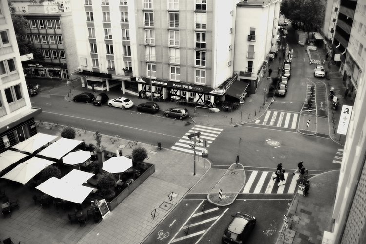View - cityscape, blackandwhitephotography - borisholtz | ello