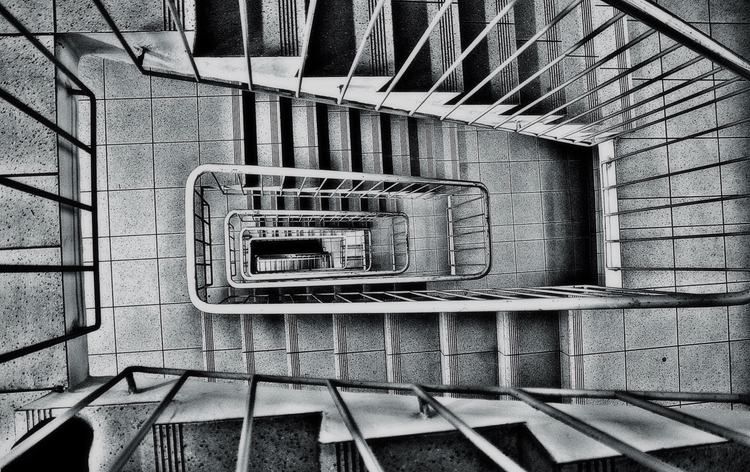 downstairs - blackandwhitephotography - borisholtz | ello