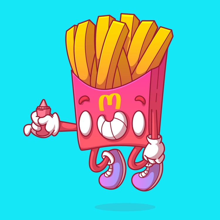 Fries - thunderrockets, feelthethunder - thunderrockets | ello