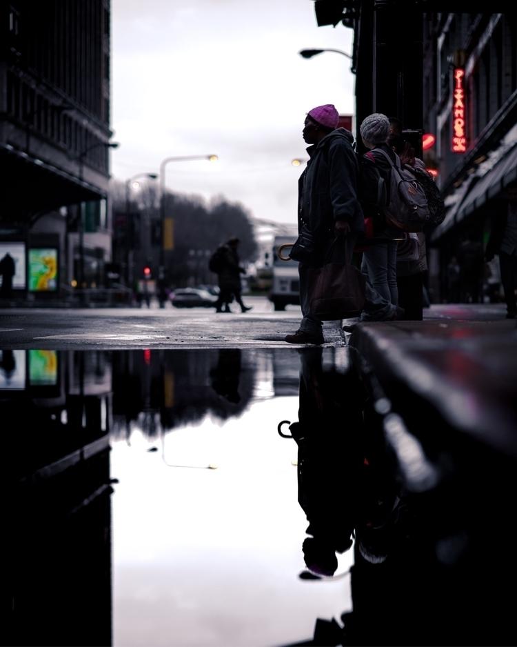 Chicago reflections.  - chicago - craftonandrew | ello