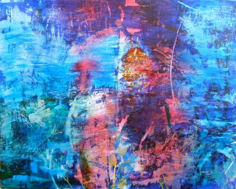 Phthalo Blue Persuasion acrylic - chiarascuro | ello