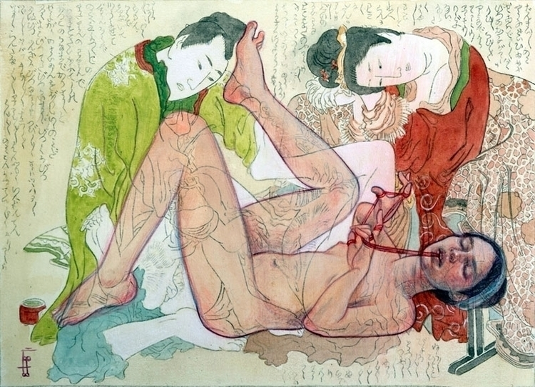 series work, reason Shunga act  - maryamgohar | ello