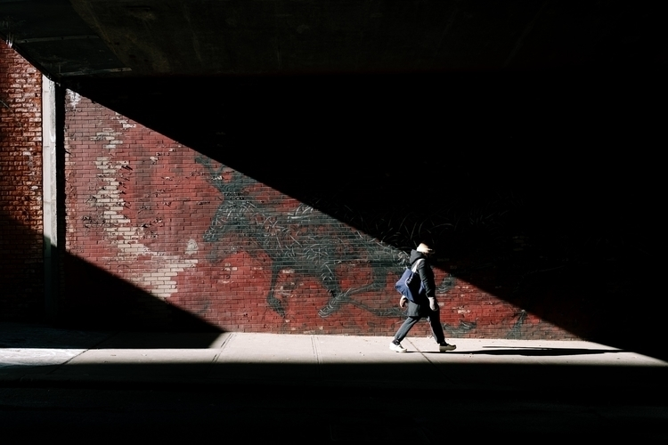 Light Tunnel - streetphotography - mikeyboards | ello