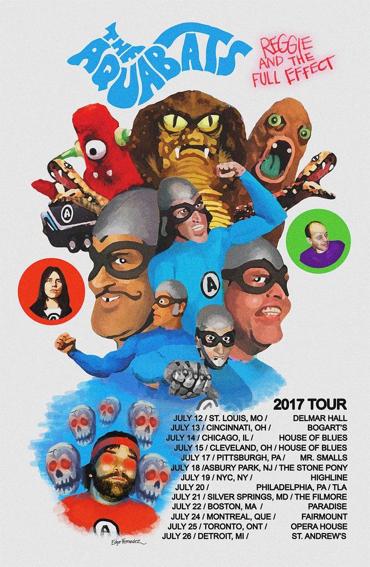 post! super rad tour poster aqu - fuzzyvisionrecords   ello
