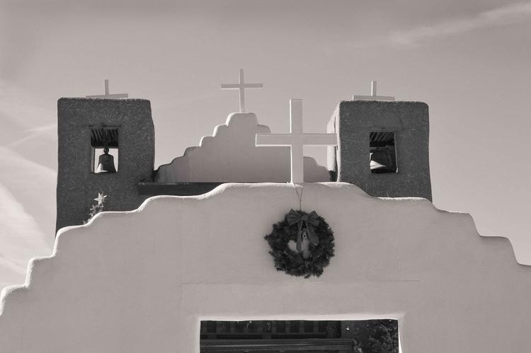 Taos Pueblo Mission, December 2 - gjaramillophotography | ello
