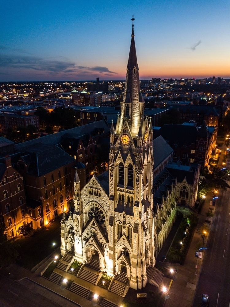 St. Xavier church Louis Univers - stlfromabove | ello
