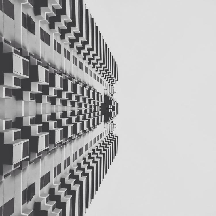 •  - ellogeometry, bw, architecture - folar | ello