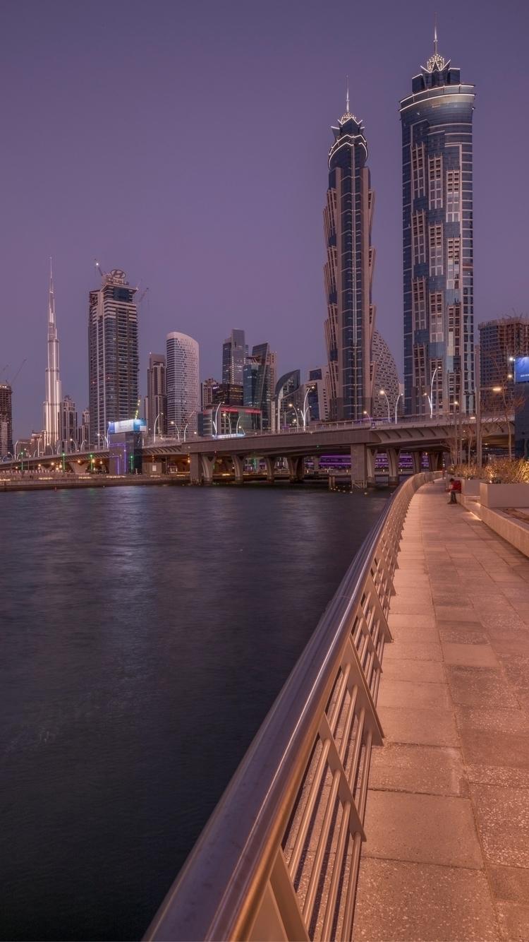 Dubai water canal - walidphotos | ello