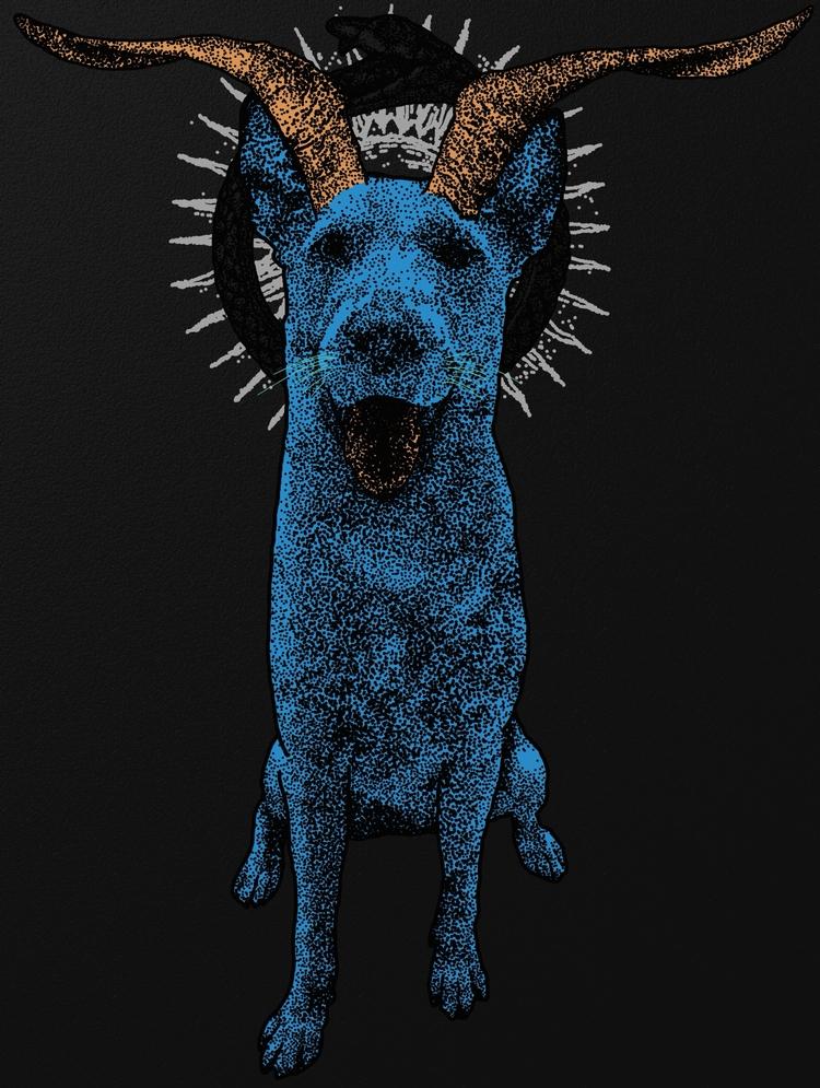 Year Dog - wip, petportrait - ataraxiaa | ello