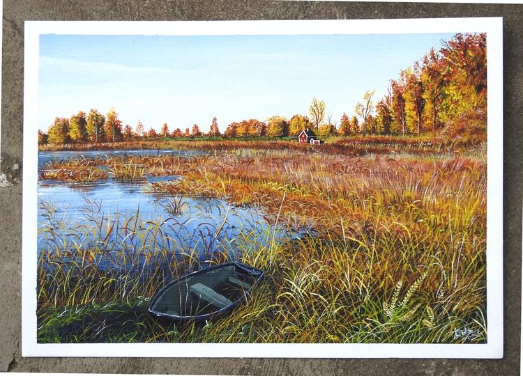 Autumn - Acrylic, Painting, Art - rakeshmalik91 | ello