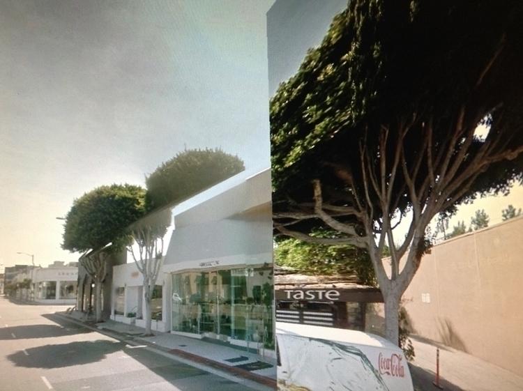 Warped Los Angeles - rephotography - dispel | ello