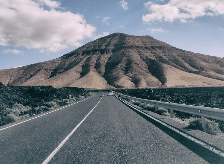 road - canaryislands, Lanzarote - lapremioqueen | ello