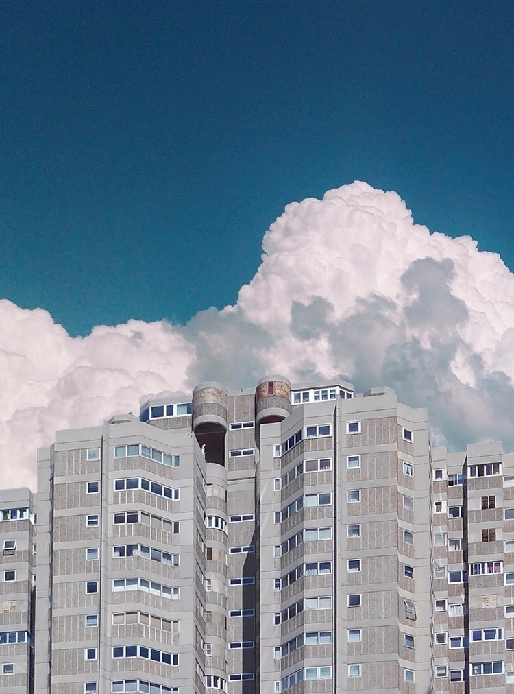 Brutalism Spain - brutalism, sky - lapremioqueen | ello