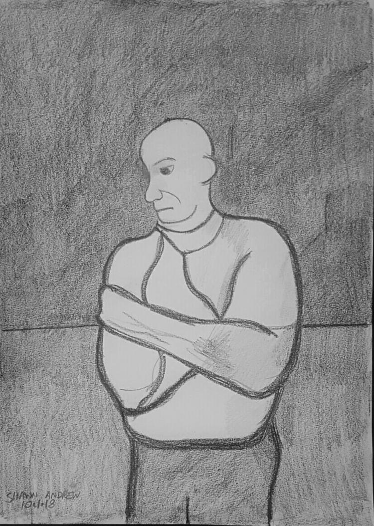 Man straitjacket - Lumocolor pe - shawnartist | ello