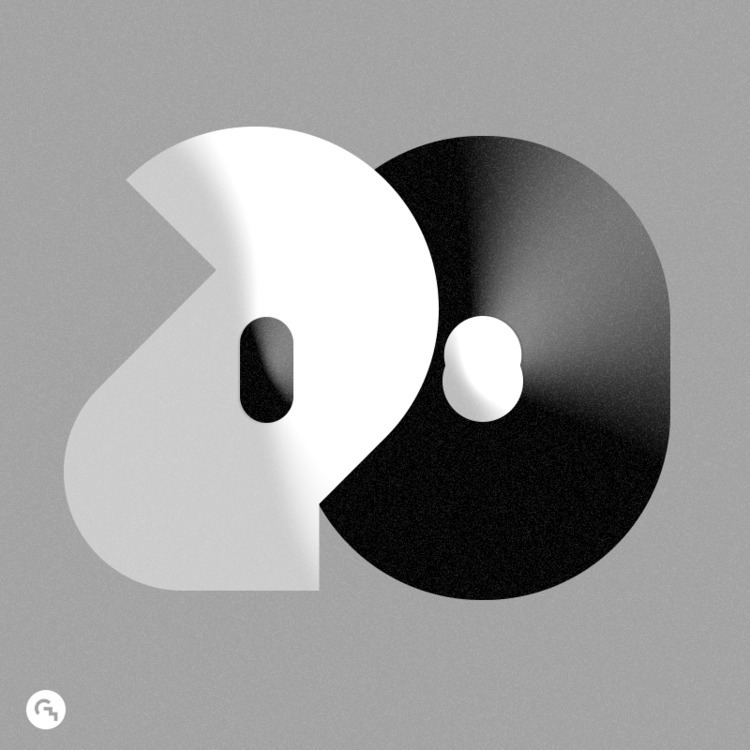 ► 2018 / 3 - typography, happynewyear - game4d | ello
