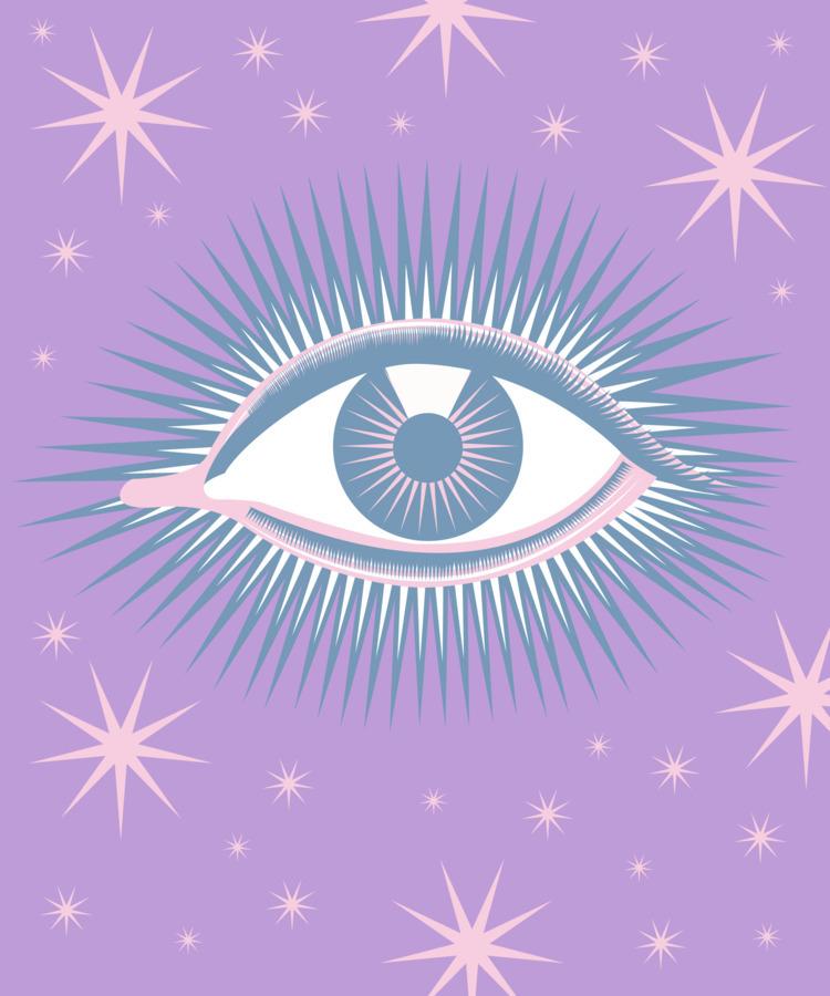 Recreated vintage eye poster - illustration - xeezles | ello