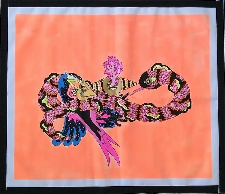 Acrylic ink vinyl - undianuevo | ello