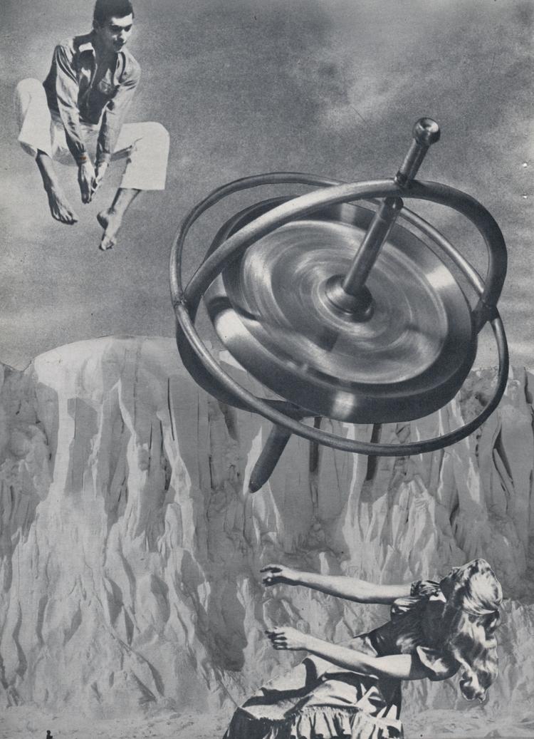 Delicate Balance - collage pape - deborahstevensonartist | ello