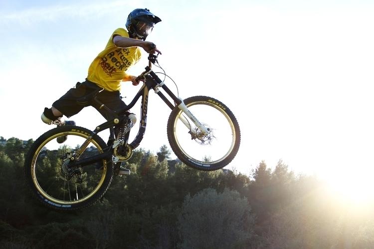 Mountain, Bike, Shred, Session - mathyvisual | ello