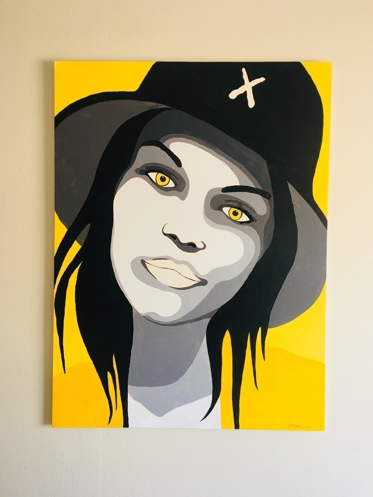 Sarah | 30 36 Acrylic canvas Su - christopherruh1 | ello