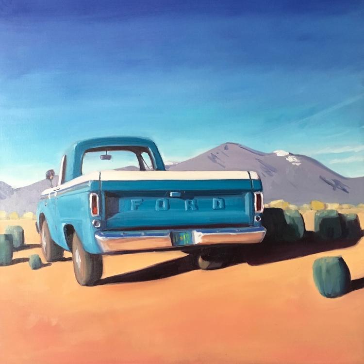 Drive Sagebrush 24 oil gallery  - elizjose | ello