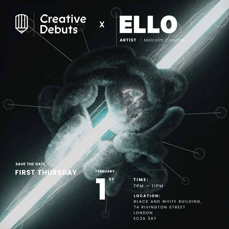 Ello Creative Debuts Gallery Wo - malcolmcrowther | ello