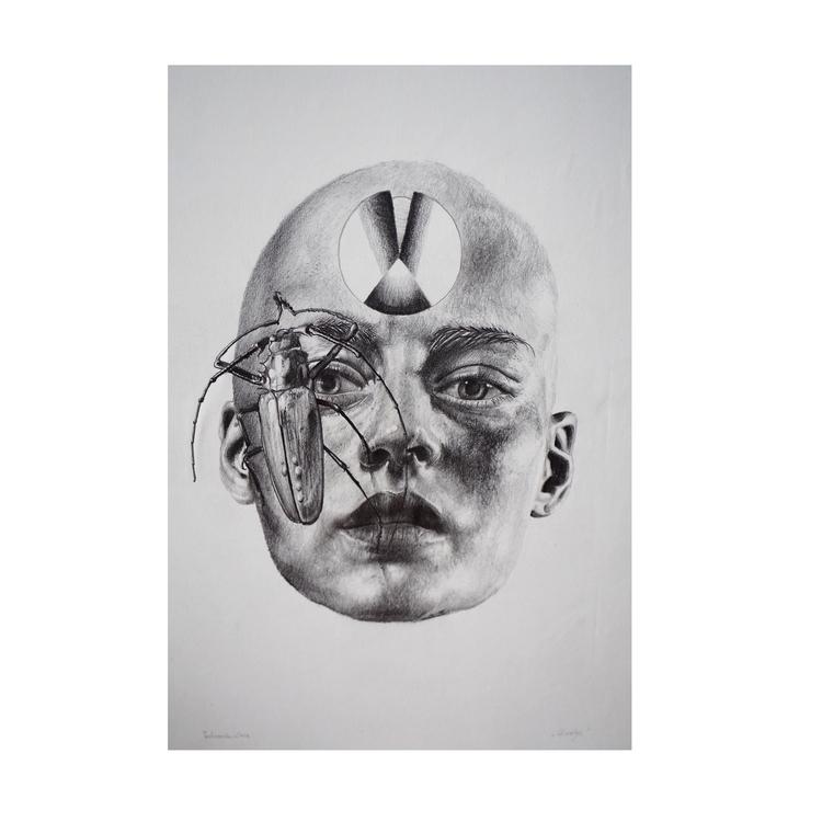 Head Drawing | 2017 - pastusiak | ello