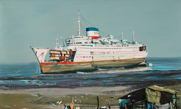 MV AUGUSTUS ALANG FEBRUARY Acry - mijares | ello