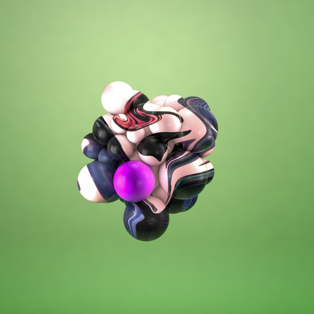 dead rest, sad - 3D, Design, Colorful - sebastianfuentez | ello