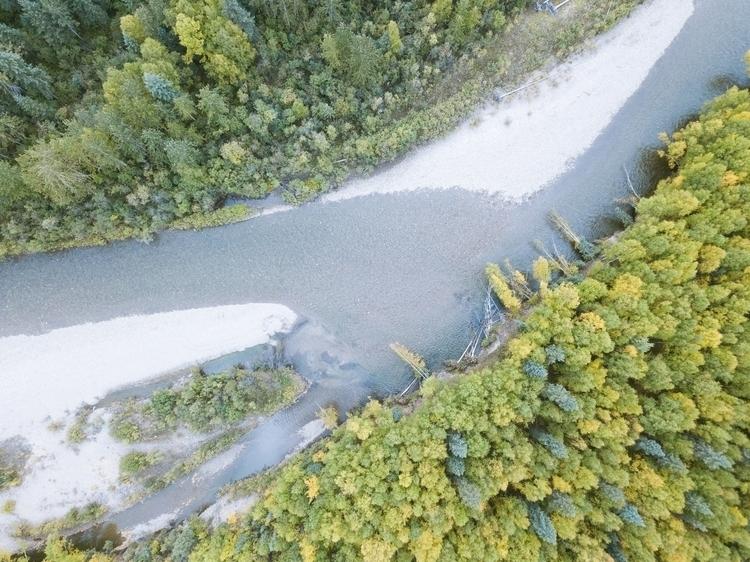 Late summer Chena River, Alaska - musubk | ello