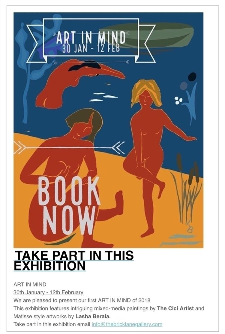 artist invitation poster Brick  - lasha_beraia | ello