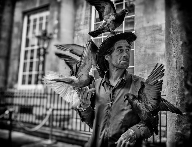 Birdman - Pail - Bath., streetphotography - dazsmith | ello