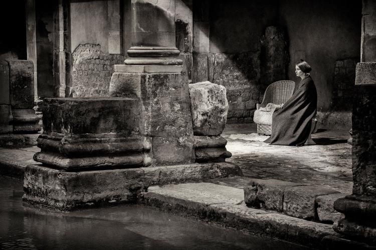 Lady baths - Bath,, streetphotography - dazsmith | ello