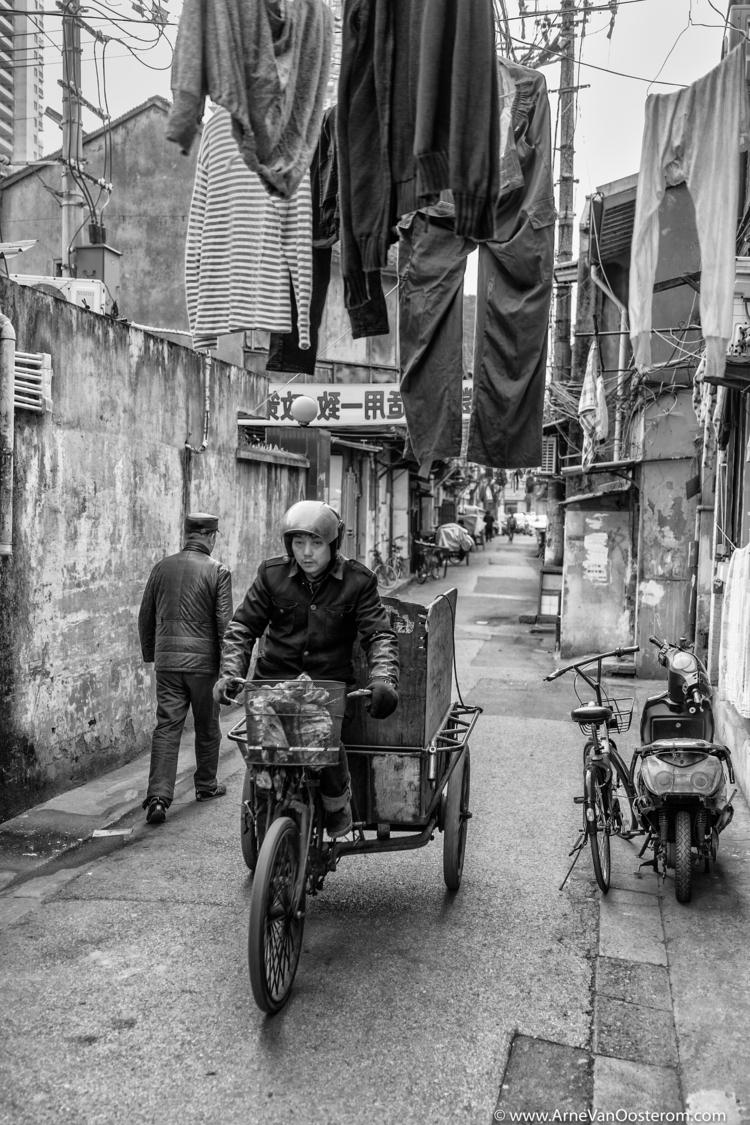 Shanghai Disappearing City - BlackAndWhitePhotography - arnevanoosterom | ello