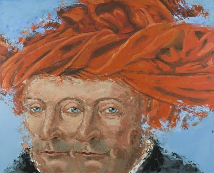 Man Red Turban VanEyck) 48 60.  - jackrosenberg | ello