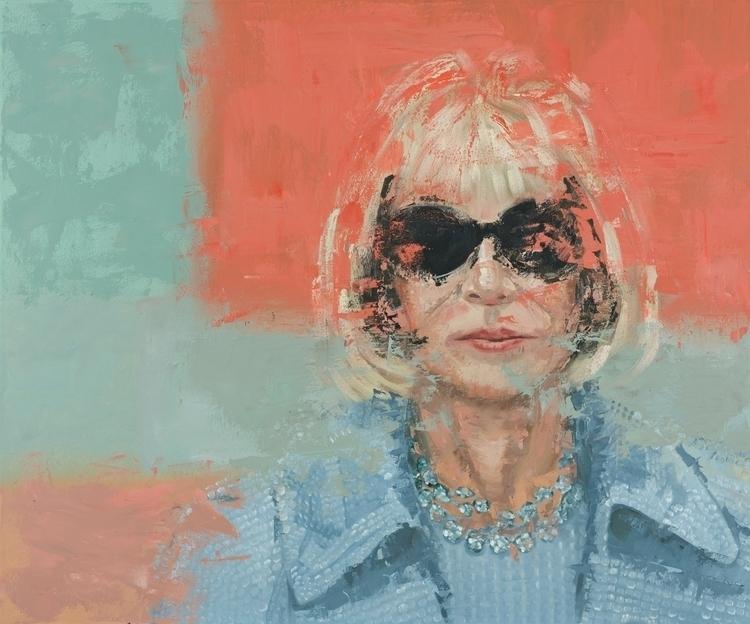 Anna. 30 40. Oil Canvas. 2017 - painting - jackrosenberg | ello