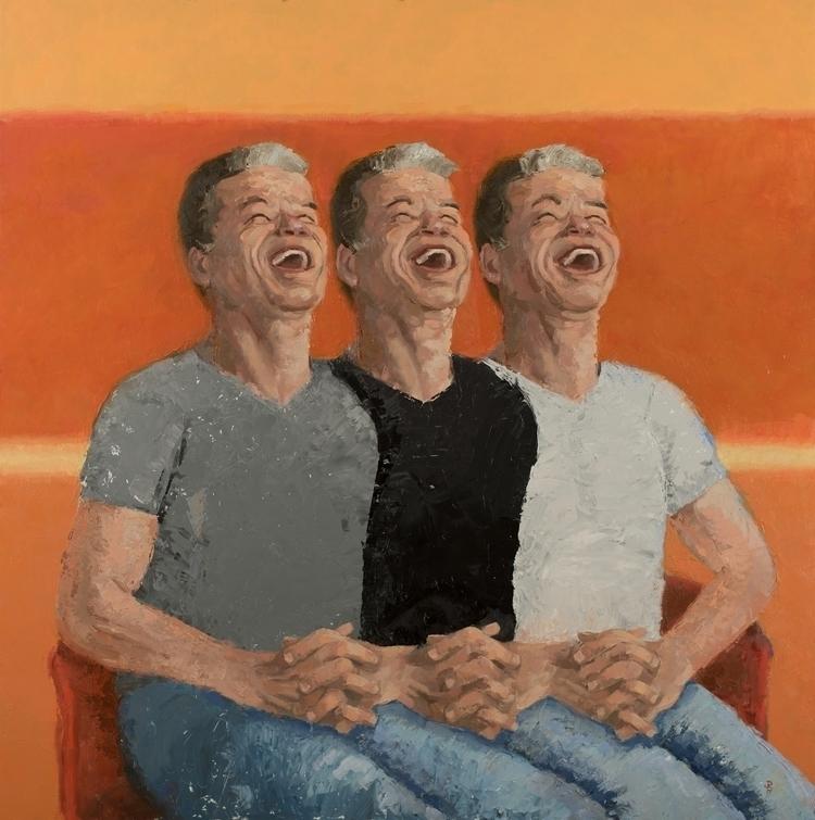 portrait, Cognitive Dissonance - jackrosenberg | ello