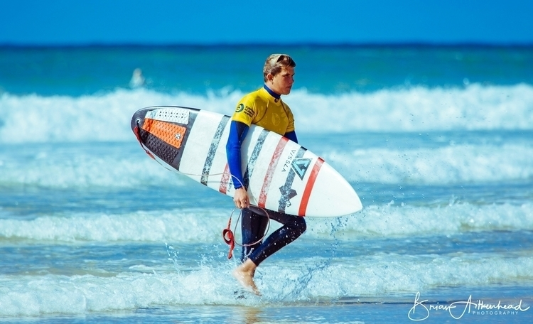 Newquay,, Cornwall UK - surfer, surfboard - applebear1976 | ello