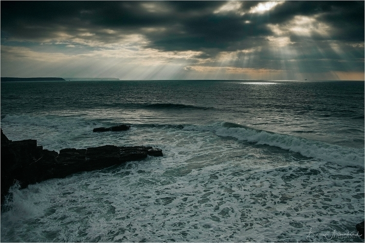 Porthleven, Cornwall - storm, porthleven - applebear1976 | ello