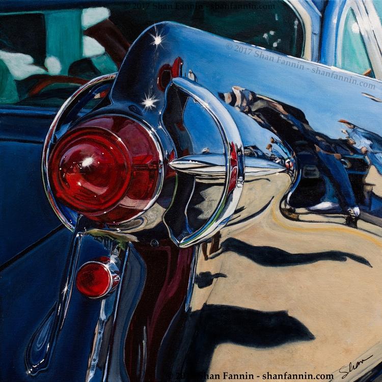 """1957 Chrysler Imperial"", 20″x2 - shanfannin | ello"